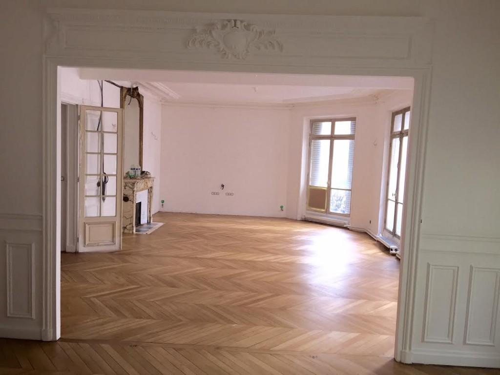 Salon salle à manger apres Coralie aubert décorateur d'intérieur marseille