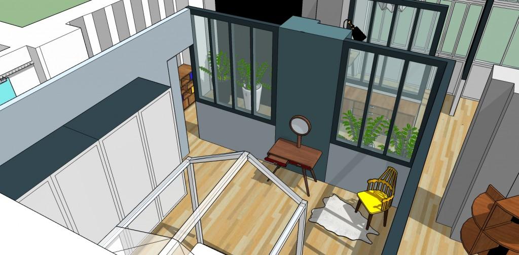 chambre Coralie Aubert Décoration d'intérieur Marseille