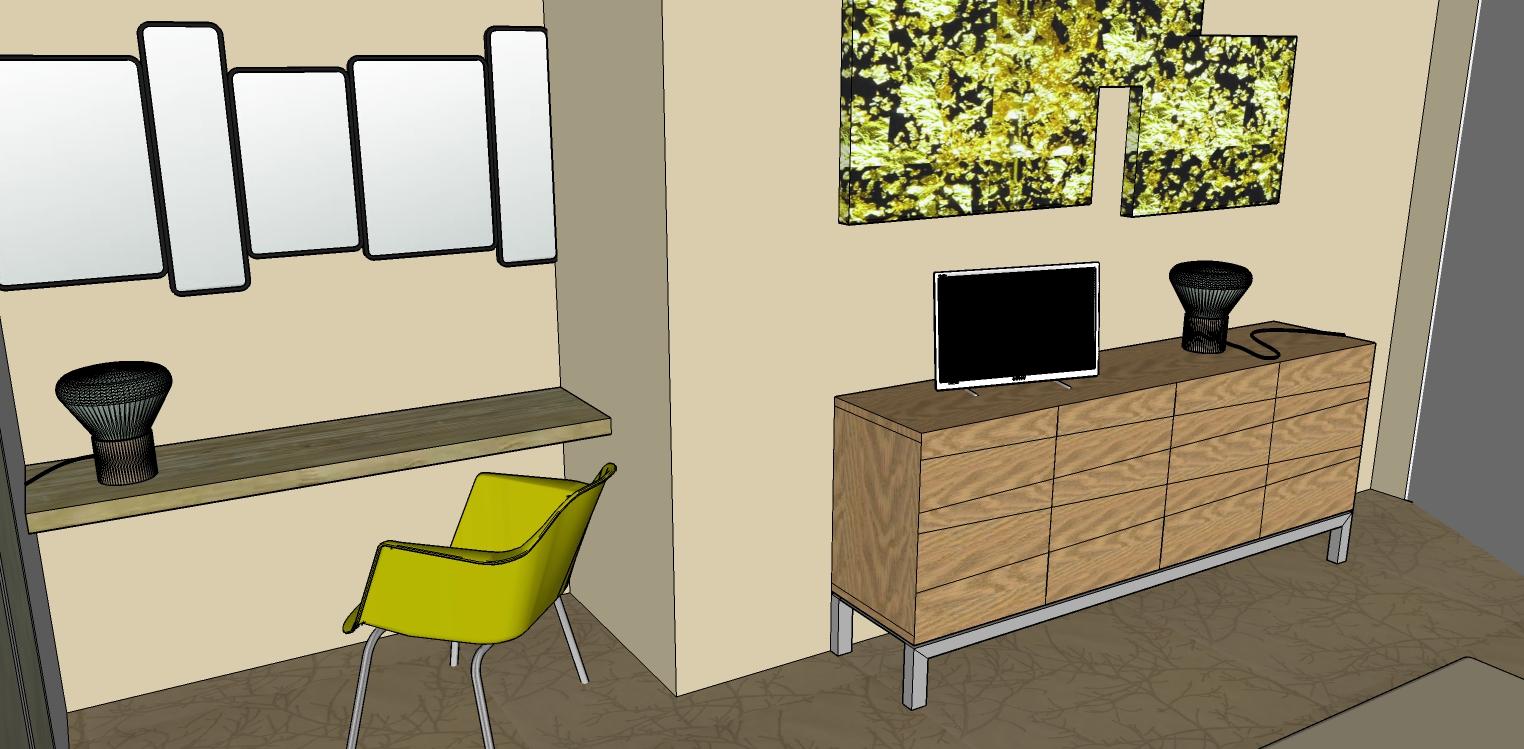 coralie aubert une chambre d 39 h tel l 39 ambiance lime chartreuse luberon coralie aubert. Black Bedroom Furniture Sets. Home Design Ideas