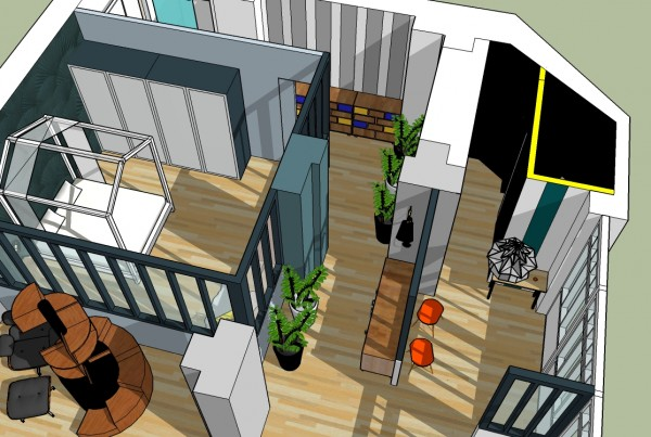 Appartement Paris Coralie Aubert Décoration d'intérieur Marseille