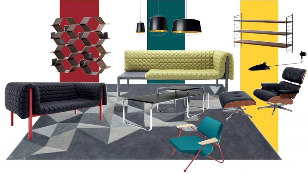 planche mobilier salon