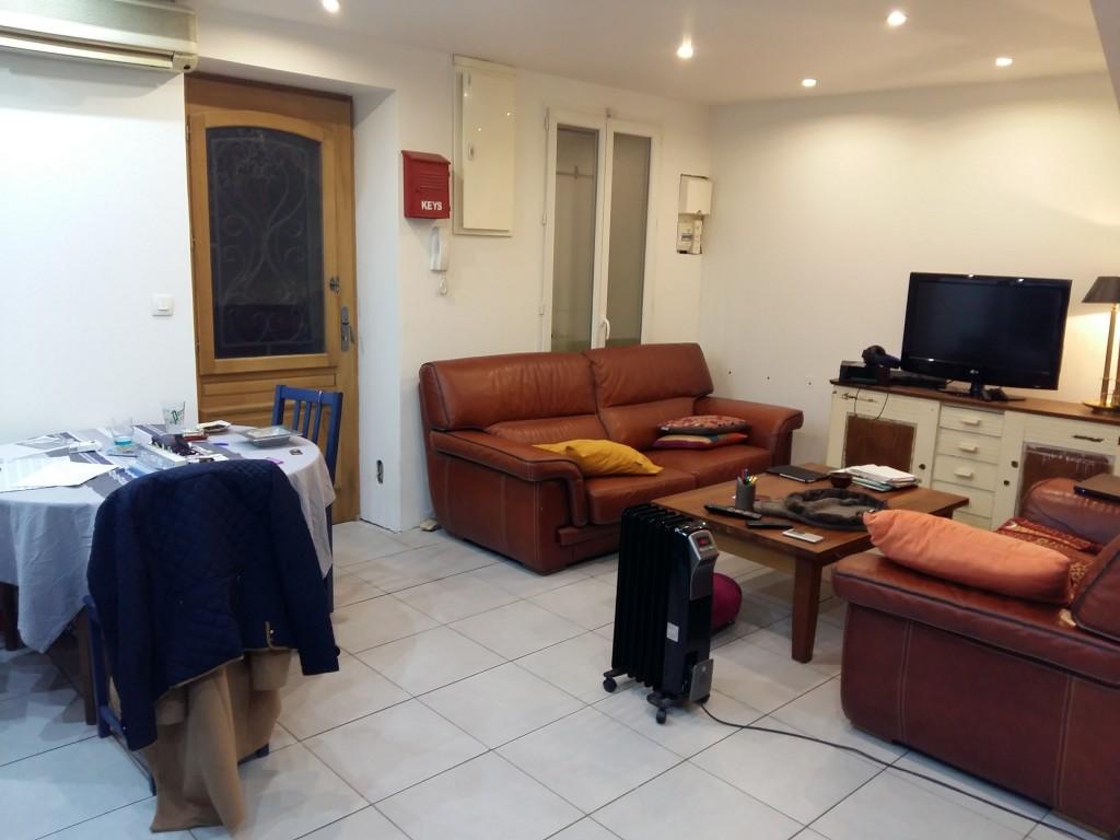 Réaménagement et décoration pièce à vivre maison Marseille Coralie Aubert Décorateur d'intérieur